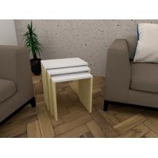 3 طاولات خدمة SHCT05 لونين2