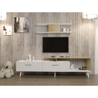 طاولة تلفزيون SHTV01 لونين2