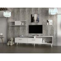 طاولة تلفزيون SHTV01 أبيض