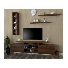 طاولة تلفزيون SHTV04 بني