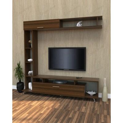 طاولة تلفزيون SHTV08 بني