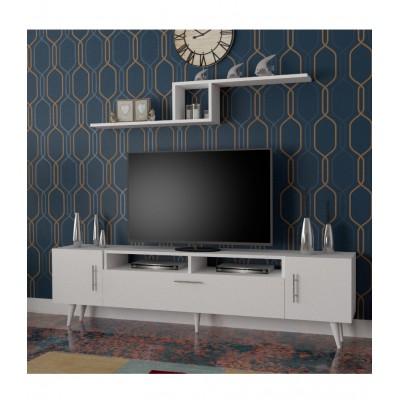 طاولة تلفزيون SHTV13 ابيض