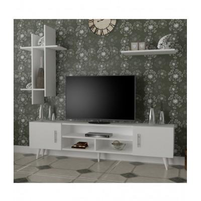 طاولة تلفزيون SHTV15 ابيض