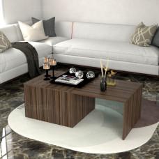 طاولة وسط SHCT07 بني 4 قطع