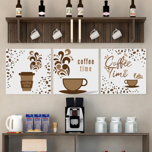 لوحة ركن قهوة ثلاث قطع SHL7CG15