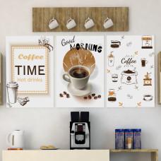 لوحة ركن قهوة ثلاث قطع SHL7CG3