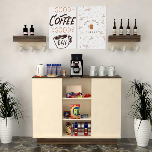 لوحة ركن قهوة قطعتين SHL7CG9