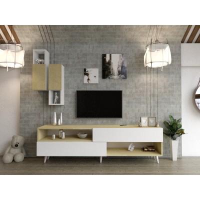طاولة تلفزيون SHTV02 لونين2