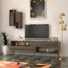 طاولة تلفزيون SHTV02 بني