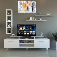 طاولة تلفزيون SHTV04 ابيض