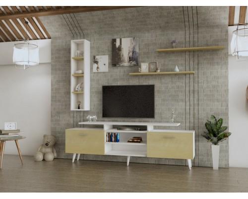 طاولة تلفزيون SHTV04 لونين2