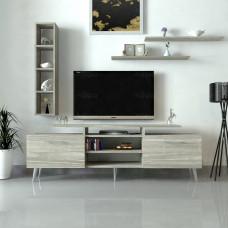 طاولة تلفزيون SHTV04 رمادي