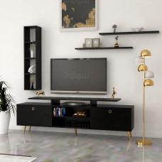 طاولة تلفزيون SHTV04 اسود