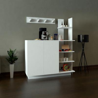 ركن وطاولة قهوة SHRC06 ابيض