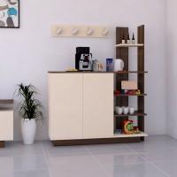 ركن وطاولة قهوة SHRC06 بني وبيج