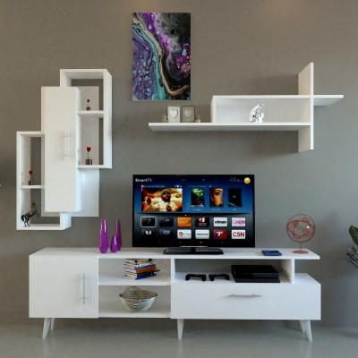 طاولة تلفزيون SHTV17 ابيض