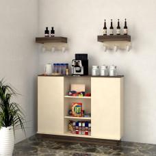 ركن وطاولة قهوة SHRC36 بني وبيج
