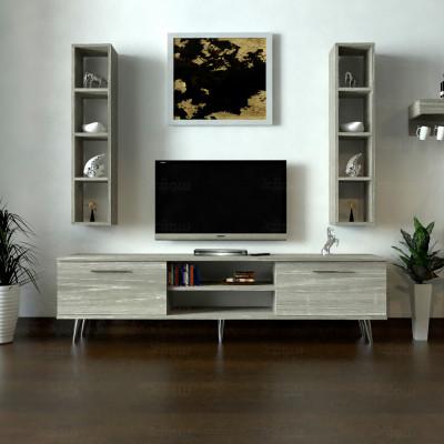 طاولة تلفزيون SHTV36 رمادي