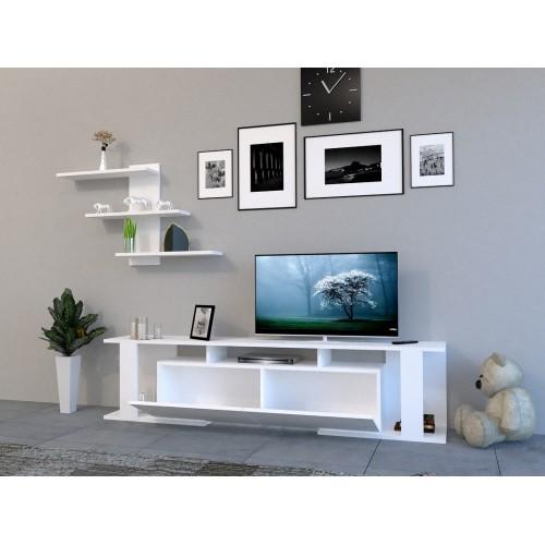 طاولة تلفزيون SHTV38 ابيض