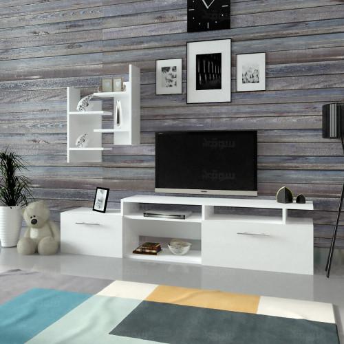 طاولة تلفزيون SHTV39 ابيض