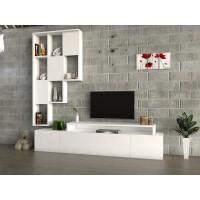 طاولة تلفزيون SHTV42 ابيض