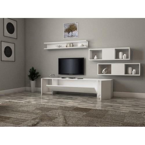 طاولة تلفزيون SHTV43 ابيض