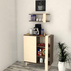 ركن وطاولة قهوة SHRC19 بني وبيج