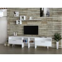 طاولة تلفزيون SHTV22 ابيض