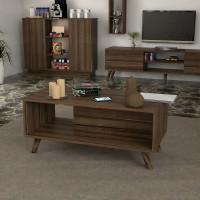 طاولة وسط SHCT36 بني