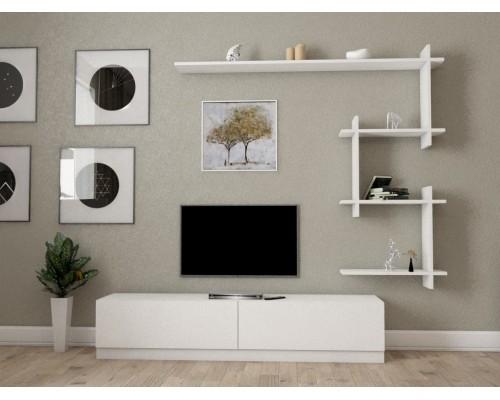 طاولة تلفزيون ahenk ابيض