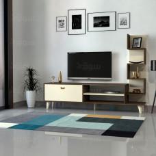 طاولة تلفزيون Ceren بني وبيج