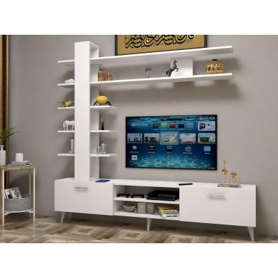 طاولة تلفزيون SHTV07 ابيض