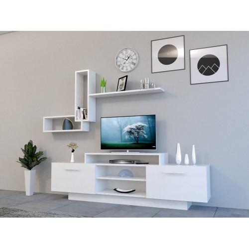 طاولة تلفزيون SHTV10 ابيض