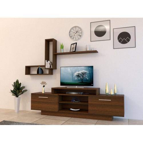 طاولة تلفزيون SHTV10 بني