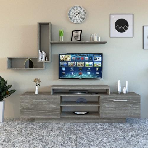 طاولة تلفزيون SHTV10 رمادي