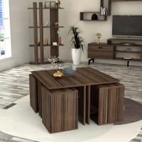 طاولة وسط SHCT10 بني