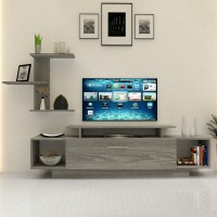 طاولة تلفزيون SHTV11 رمادي