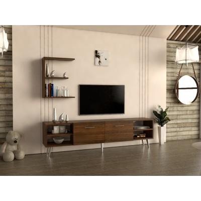 طاولة تلفزيون SHTV12 بني
