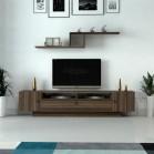 طاولة تلفزيون SHTV13 بني