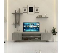 طاولة تلفزيون SHTV15 رمادي