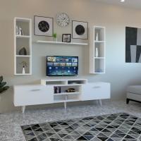 طاولة تلفزيون SHTV21 ابيض