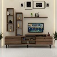طاولة تلفزيون SHTV21 بني
