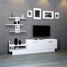 طاولة تلفزيون SHTV27 ابيض