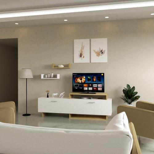 طاولة تلفزيون SHTV28 لونين2